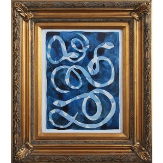 """""""Snakes"""" Painting by Kate Roebuck"""