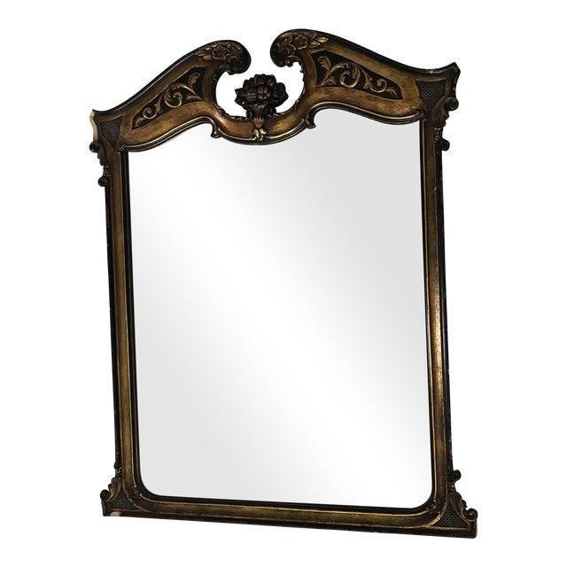 Antique Ebonized Giltwood Mirror - Image 1 of 11