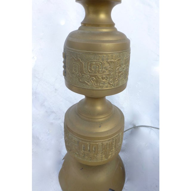 Image of James Mont Style Hollywood Regency Lamps - A Pair