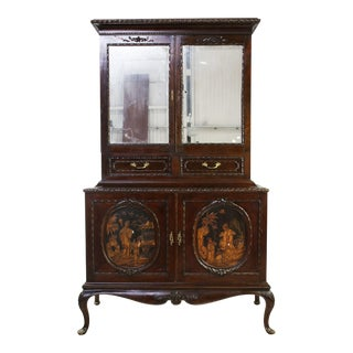 French Chinoiserie Dining Cupboard
