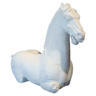 Asian Ming Horse Sculpture