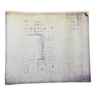 41st Street Theatre, NYC Blueprint