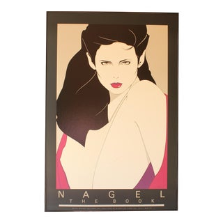 Patrick Nagel Lithograph Print