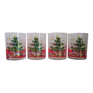 Nikko Double Old Fashioned Christmas Glassware