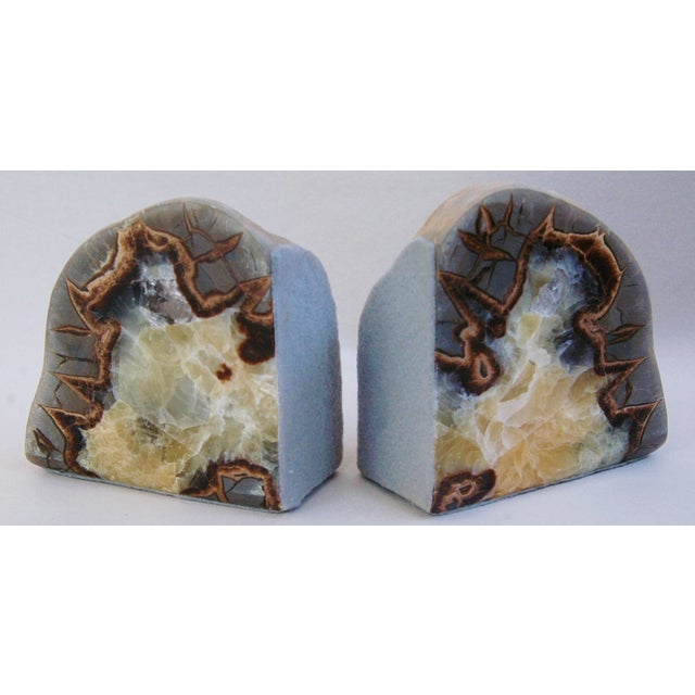 Dragonstone Geode Bookends- A Pair - Image 5 of 6
