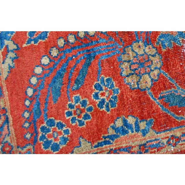 "Antique Persian Mahal Vagireh Rug - 2'1"" X 3'10"" - Image 5 of 10"