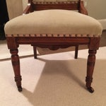 Image of Victorian Tufted Chair