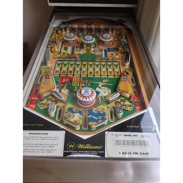 Mid-Century Williams Magic City Pinball Machine - Image 5 of 10
