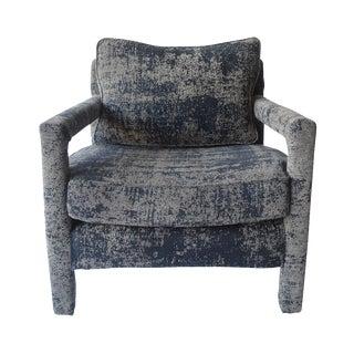Milo Baughman Style Vintage Parsons Chair