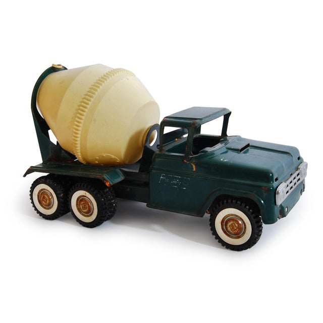 Americana Buddy L Cement Truck Vintage Toy - Image 2 of 4
