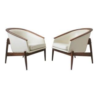 Arthur Umanoff Mid-Century Tub Chairs - A Pair