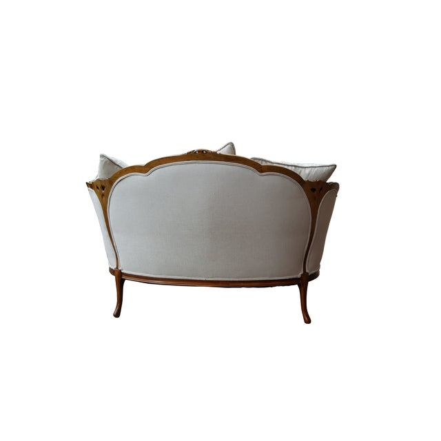 French Louis XV Style Love Seat - Image 3 of 6