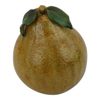Crackle Glaze Ceramic Decorative Pear