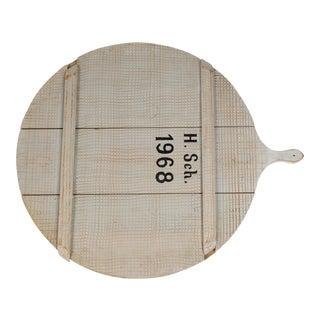 1968 Belgium Bread Board, Large