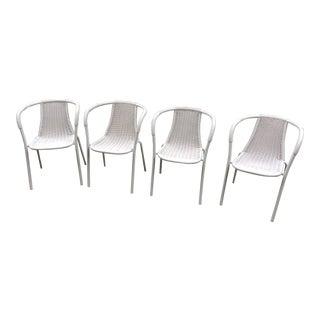 Vintage Mid-Century Modern Bistro Chairs - Set of 4