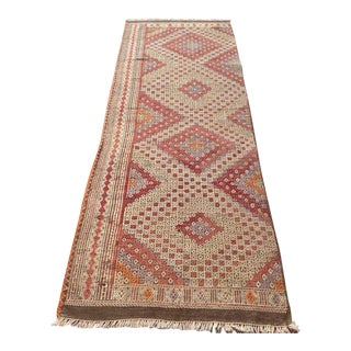 Vintage Turkish Kilim Runner - 2′5″ × 7′3″