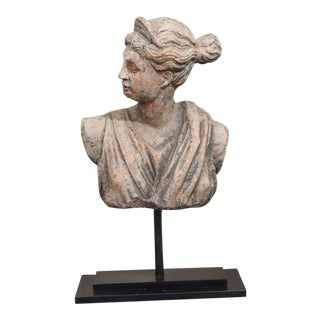 19th Century French Terra Cotta Bust