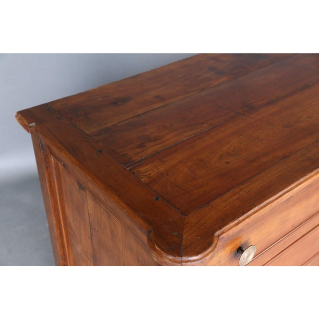19th Century Louis XVI Fruitwood Commode - Image 10 of 11