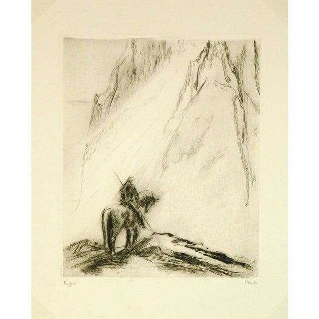 Original Etching Parsifal - Image 4 of 4