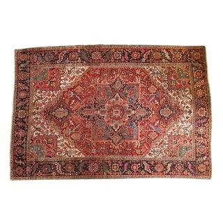 """Vintage Heriz Carpet - 8'1"""" x 11'9"""""""