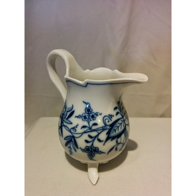 Meissen Blue Onion Cream & Sugar Set - Image 4 of 10