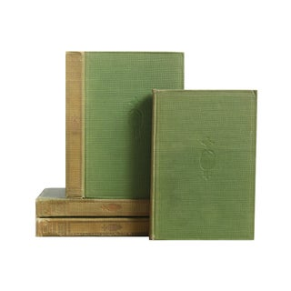 Pocket Sized Green Bookstack - Set of 4