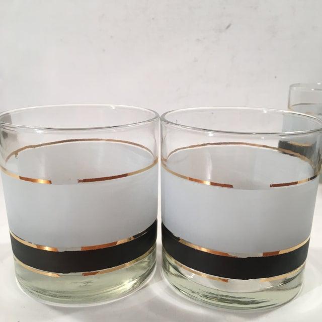 Vintage Libbey Dbl Old Fashion Glasses - Set of 5 - Image 4 of 8