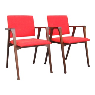 "Franco Albini ""Luisa"" Chairs - A Pair"