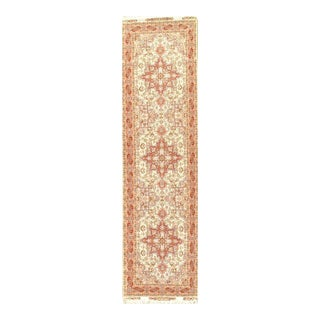 "Pasargad NY Persian Tabriz Silk & Wool Pile Rug - 2'7"" x 9'10"""