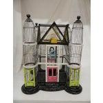 Image of Vintage Cityscape Architectural Birdcage