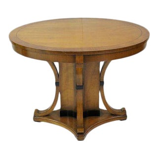 Biedermeier Style Cherry Center Table