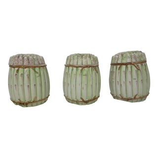 Italian Asparagus Storage Containers- Set of 3