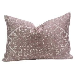 Swati Lavender Brocade Pillow