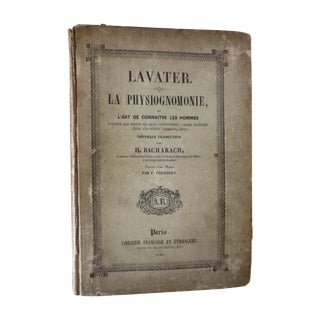 La Physiognomonie, 1841, Paris