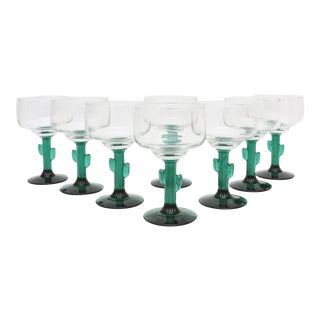 Cactus Margarita Glass - Set of 8