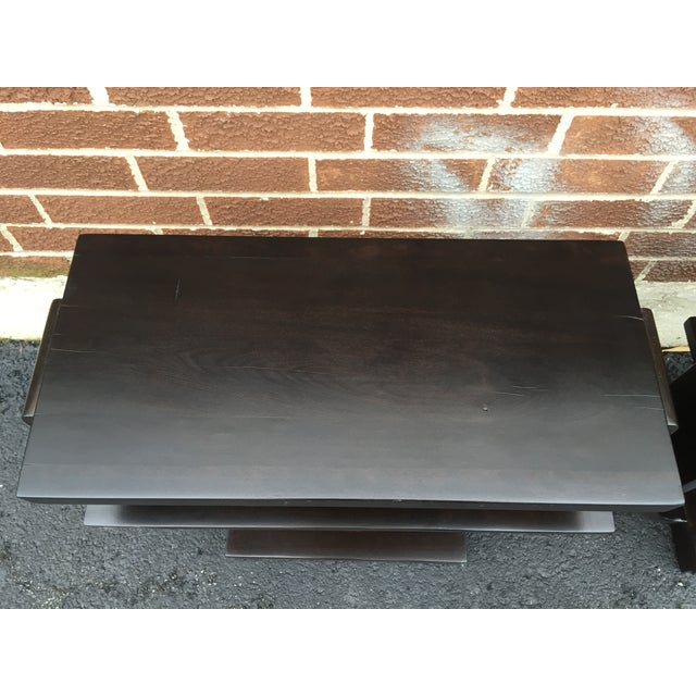 Image of Art Deco Side Tables by Brown Saltman - Pair