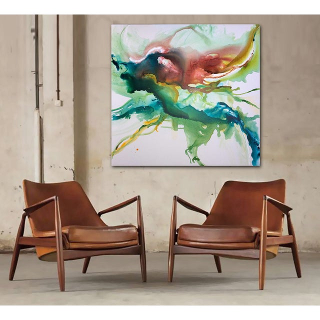 Hustle & Flow Original Abstract Painting - Image 5 of 6