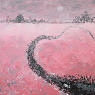 """""""My Heart Flows Out to You"""" Painting by C. Plowden"""