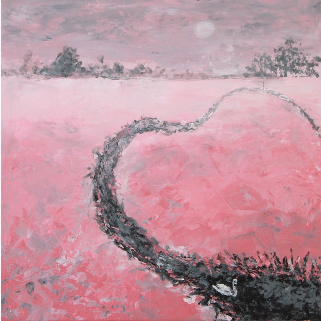 """""""My Heart Flows Out to You"""" Painting by C. Plowden - Image 1 of 2"""