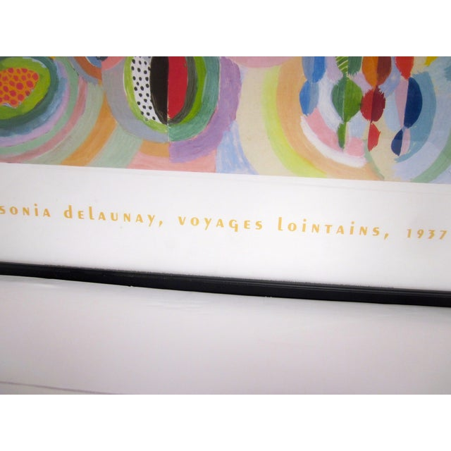 Sonia Delaunay Abstract Geometric Framed Art - Image 4 of 9