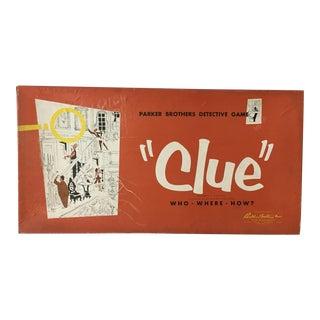 1950 Original Game of Clue