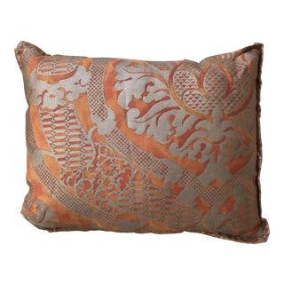 Custom Petite Fortuny Pillow