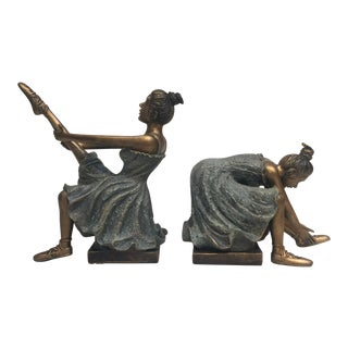 Ballerinas Love To Dance Bookends - A Pair