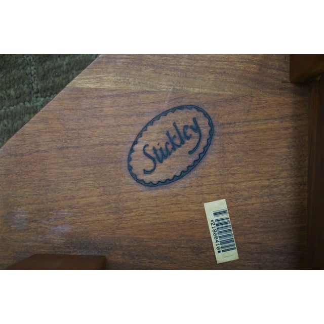 Stickley Mission Style Cherry Side Table (A) - Image 7 of 10