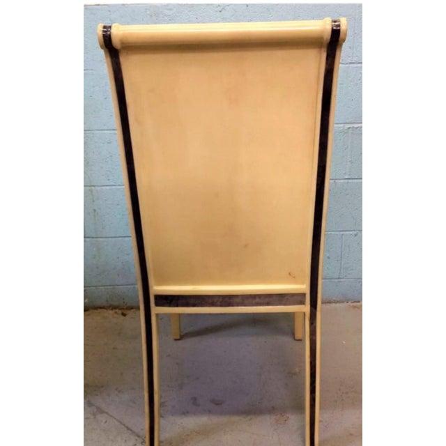 Enrique E. Garcel Columbian Goatskin Chairs - Set of 6 - Image 5 of 6