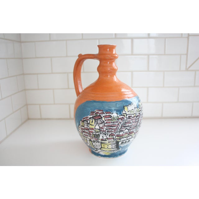 Mediterranean Jug Vase - Image 2 of 9