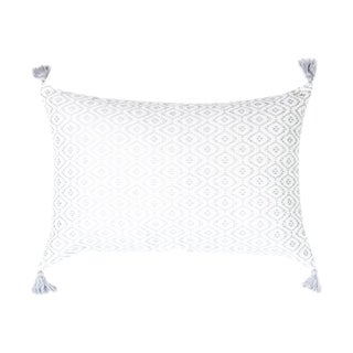 Gray and White Chiapas Pillows
