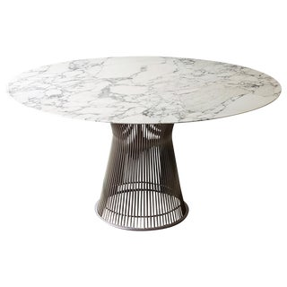 Platner for Knoll Arabescato Dining Table