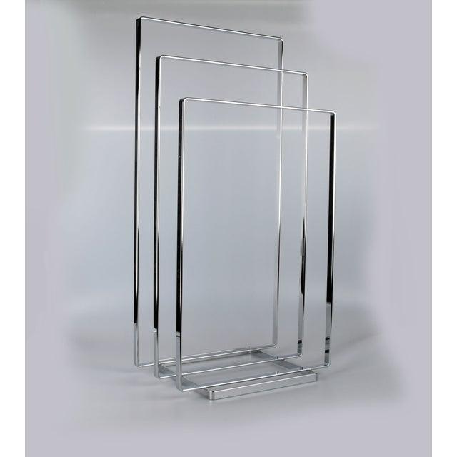 Image of Three Tier Chrome Towel Rack
