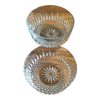 Vintage Arcoroc France Crystal Bowls - A Pair